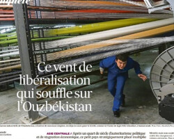"""Французская газета """"Les Echos» об Узбекистане"""
