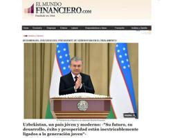 «El Mundo Financiero»: Впереди Узбекистан ждут широкомасштабные реформы и изменения