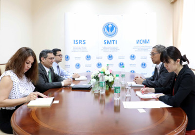 Meeting with counsellor of Japanese embassy