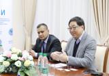 Встреча с международными наблюдателями из Сингапура