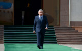President departs for Tajikistan