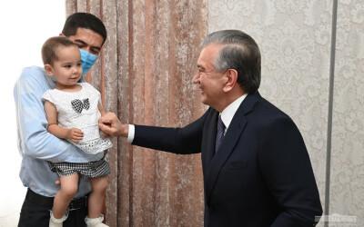 Президент поздравил новоселов