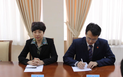 Meeting with the Ambassador of the People's Republic of China in Uzbekistan