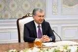 Президент Узбекистана встретился с делегацией Пакистана