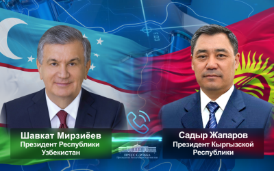 Президенты Узбекистана и Кыргызстана рассмотрели актуальные вопросы двустороннего сотрудничества