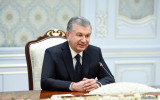 The President of Uzbekistan receives Sergey Lavrov
