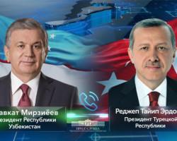 Туркия Президенти билан телефон орқали мулоқот тўғрисида