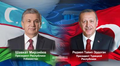 Leaders of Uzbekistan and Turkey talk over the phone