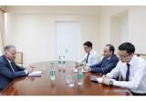 О встрече с послом Германии в Узбекистане