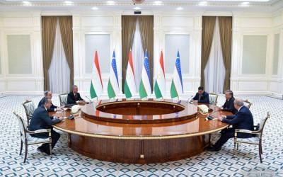 Президент Узбекистана принял председателя Маджлиси Намояндагон Маджлиси Оли Таджикистана