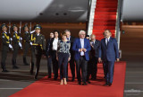 The Federal President of Germany arrives in Uzbekistan