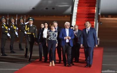 Germaniya Federal prezidenti O'zbekistonga keldi