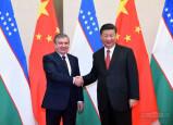 Президент Узбекистана провел встречу с главой Китая