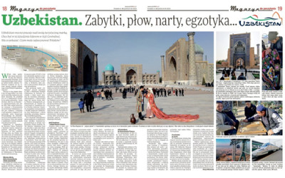 Польские журналисты о привлекательности Узбекистана