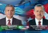 Состоялся телефонный разговор Президента Узбекистана с Президентом Турции