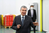 Президент ознакомился с деятельность аграрных предприятий Шерабада
