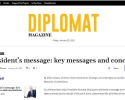 Интерес к Посланию Президента Узбекистана Олий Мажлису в фокусе прессы Нидерландов