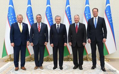 Президент Узбекистана обсудил с американскими конгрессменами пути расширения практического взаимодействия