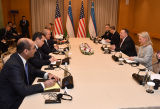 В Ташкенте начались переговоры между делегациями Узбекистана и США
