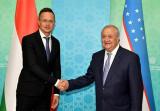 Встреча с Министром внешних экономических связей и иностранных дел Венгрии