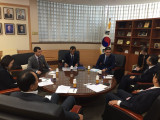 Meeting at the Institute of foreign Affairs and national security Korea National diplomatic Academy