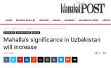 Создание в Узбекистане Министерства по поддержке махалли и семьи в фокусе внимания пакистанских СМИ