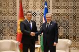 Состоялась встреча Президентов Узбекистана и Кыргызстана