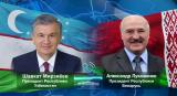 Президенты Узбекистана и Беларуси провели телефонный разговор