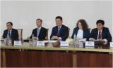 Koreya delegatsiyasi elchisi bilan uchrashuv