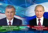 Лидеры Узбекистана и России рассмотрели актуальные вопросы взаимовыгодного сотрудничества