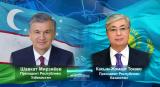 Президент Узбекистана провел телефонный разговор с Президентом Казахстана