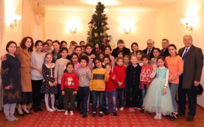 Коллектив ИСМИ посетил Дом милосердия