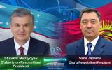Состоялся телефонный разговор Президентов Узбекистана и Кыргызстана