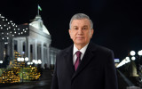 New Year's greetings from President Shavkat Mirziyoyev to the people of Uzbekistan