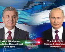 Presidents of Uzbekistan, Russia speak by phone